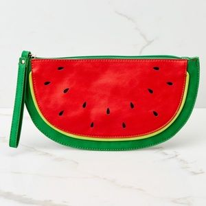 Handbags - Sweet As Can Be Watermelon Clutch